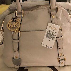 michael kors vanilla colored bag